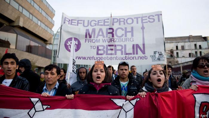 تظاهرات روز شنبه (۱۳ اکتبر ۲۰۱۲) در برلین