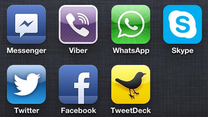 iphone Social Media App (Screenshot)