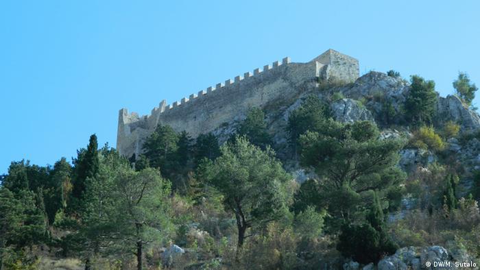 Die Festung Herceg Stjepan Kosaca in Blagaj, in der Nähe von Mostar (Bosnien und Herzegowina, 14.10.2012); Copyright: DW/M. Sutalor