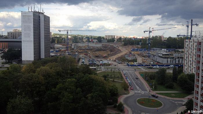 Panorama view of Katowice Copyright: Jenny Hoff / DW