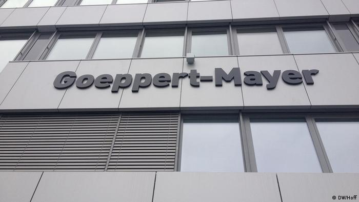 The Goeppert-Mayer building Copyright: Jenny Hoff / DW