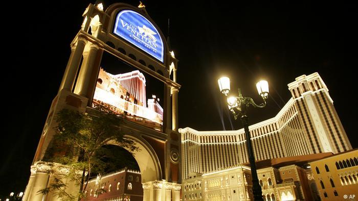 Venetian Macao Resort Hotel in Macau (AP)