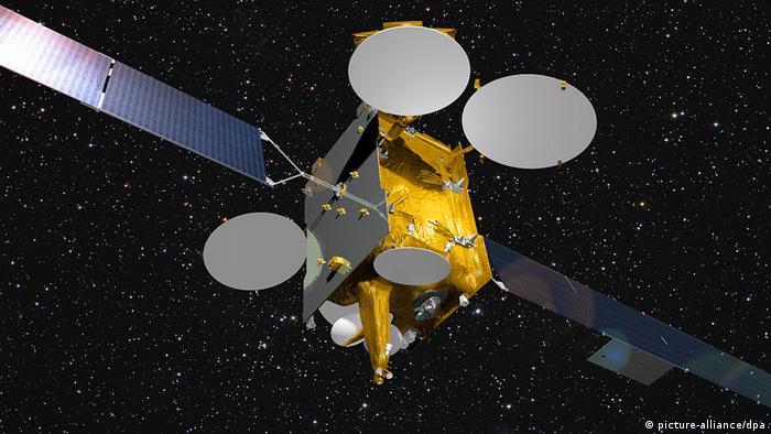 Satélite Eutelsat.