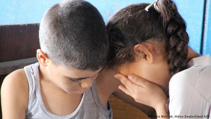 Syrische Flüchtlingskinder (Foto: Moritz Wohlrab, Aktion Deutschland hilft)