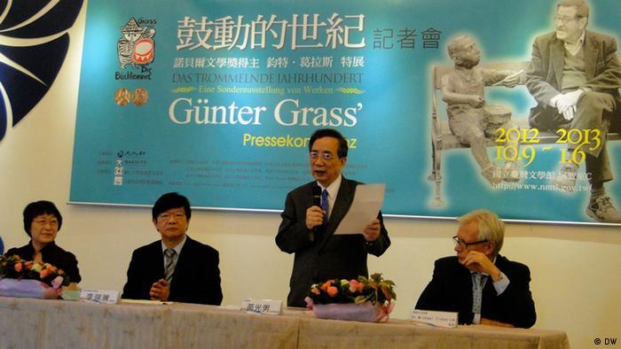 Grass und Taiwan Ausstellung PK