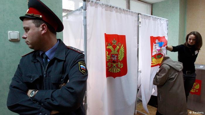 Symbolbild Wahlen Russland