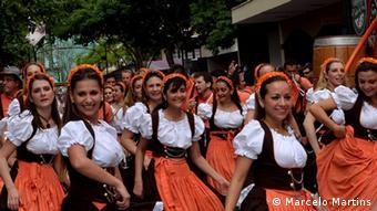 Oktoberfest in Blumenau (Foto: Marcelo Martins)