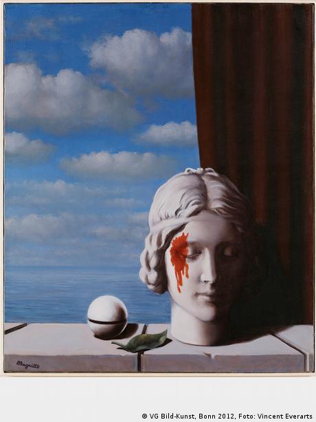 René Magritte, La mémoire (1948)
