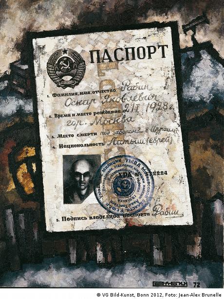 Oscar Rabin, Le Passeport (1972)