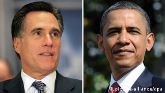 TV Duell Barak Obama Mitt Romney Hempstead