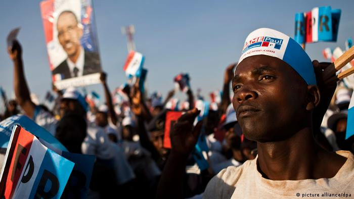 A rally ahead of the 2010 elections in Rwanda EPA/CHARLES SHOEMAKER