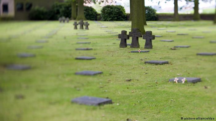 War cemetery at Langemark