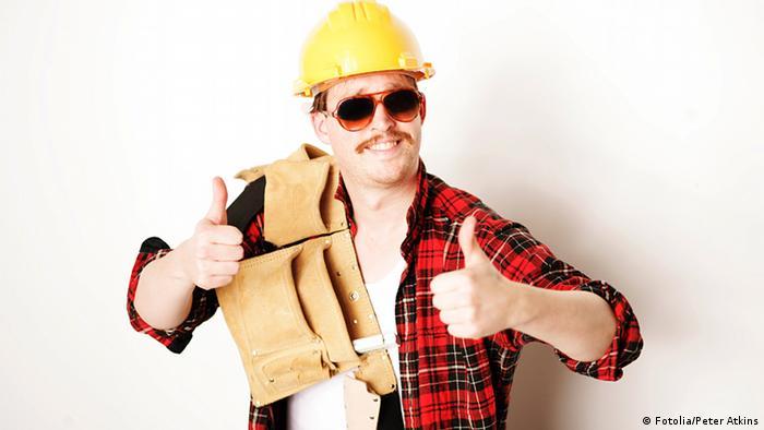 Как устроиться работать в германии плитка дубай в интерьере