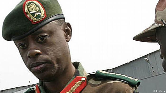 Ruanda Verteidigungsminister James Kabarebe in Kigali