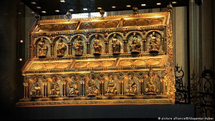La reliquia de los reyes magos es el mayor tesoro de la Catedral de Colonia.