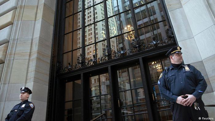 New York Federal Reserve Bank Bombe Festnahme Terror Oktober 2012 (Reuters)