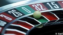 Symbolbild Roulette Glückspiel mit Kugel
