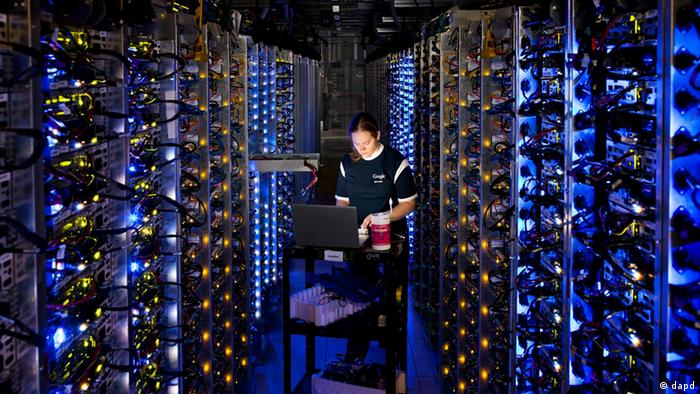 Google Daten Zentrum Data Center Oregon USA