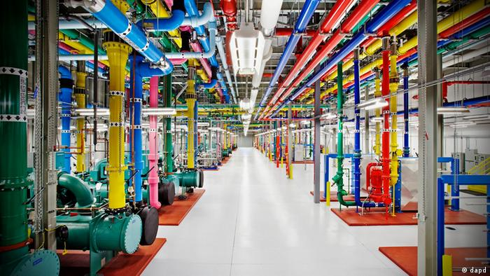 Google data center, USA