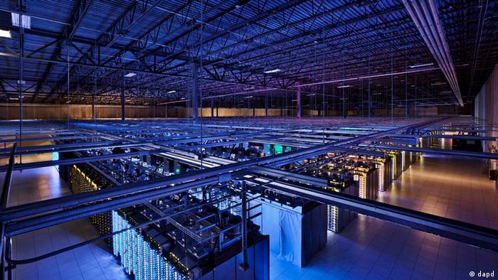 A Google data center in Hamina, Finland.