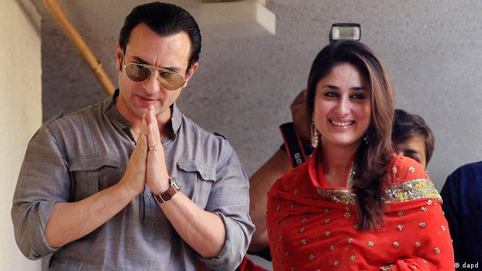 Bildergalerie Hochzeit Saif Ali Khan und Kareena Kapoor (dapd)