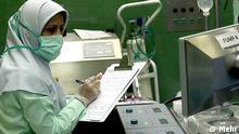 Iranische Krankenschwester