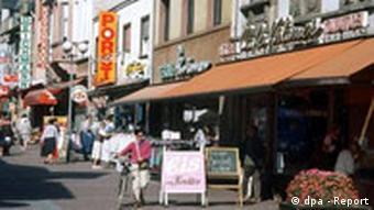 Fußgängerzone in Oberursel