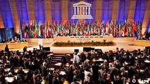Frankreich Unesco Abstimmung Palästinenser aufgenommen