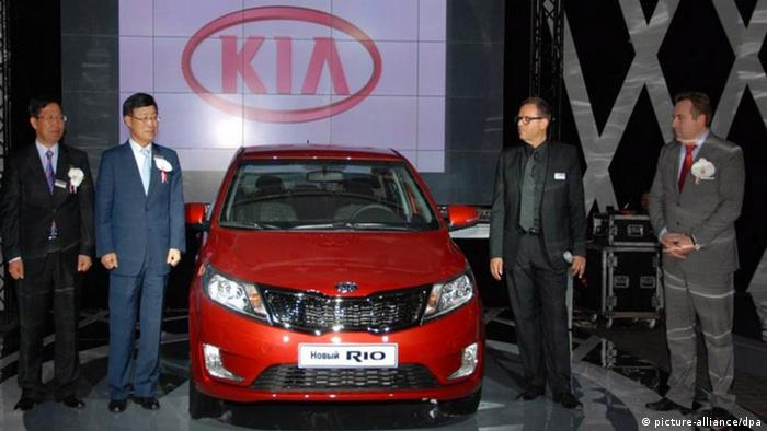 Презентация автомобиля Kia Rio
