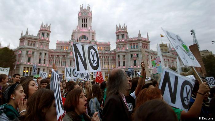 Taxa de desemprego é alta entre os recém-formados na Espanha