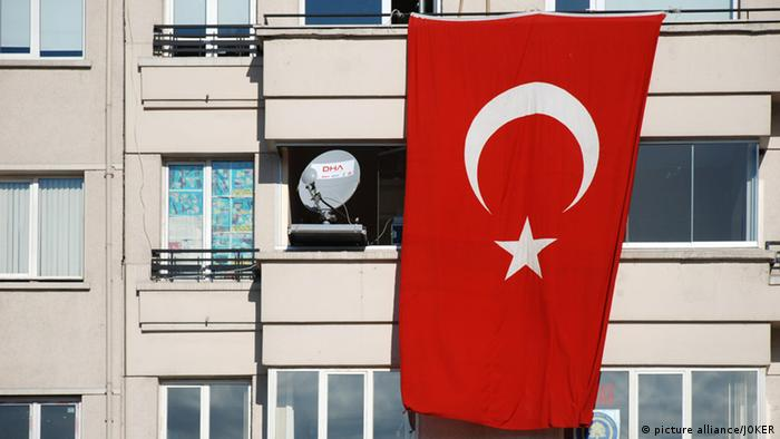 Türkische Nationalflagge in Istanbul (picture alliance/JOKER)