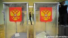 Gouverneurswahlen in Russland