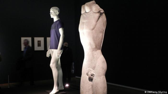 Torso by Fritz Wotruba, in the foreground, and Untitled by Heimo Zobering