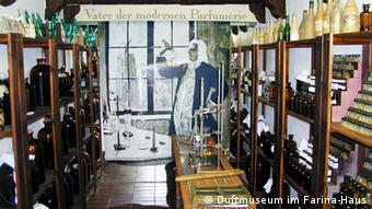 A picture from inside the Eau de Cologne museum at JM Farina in Cologne (Photo: Copyright: Duftmuseum im Farina-Haus)