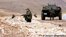 Türkei Soldaten Kurdengebiet