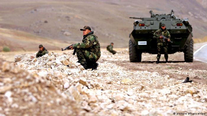 Türkei Soldaten Kurdengebiet (picture-alliance/dpa)