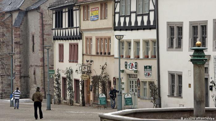 Площадь в маленьком городе
