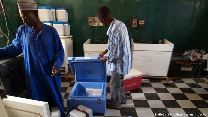 Preparation of polio vaccines