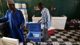 Polio-Impfstoffe und technisches Zubehör in Nigeria (Global Polio Eradication Initiative)