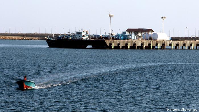 Iran Hafen Kalantari Stadt Chabahar Iran Golf von Oman (picture-alliance/dpa)