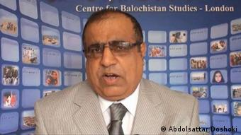 دکتر عبدالستار دوشوکی رئیس مرکز مطالعات بلوچ در لندن