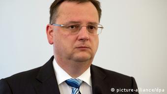 Petr Necas, primer ministro de la República Checa.