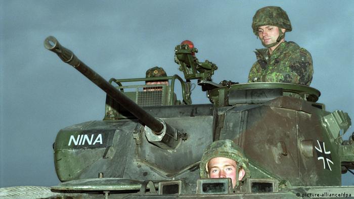 Bundeswehrsoldaten Panzer