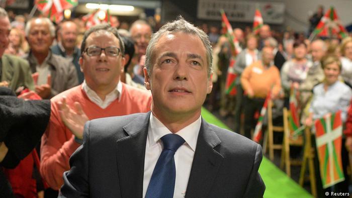 Bask Milliyetçi Partisi lideri Inigo Urkullu