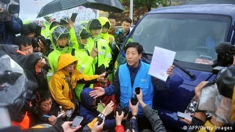 North Korean dissident Park Sang Hak (AFP/Getty Images)
