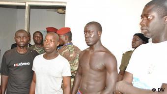 Quatro soldados presos após ataque a unidade militar de elite no domingo (21.10): governo de transição apontou suposto envolvimento de pessoas oriundas de Casamança
