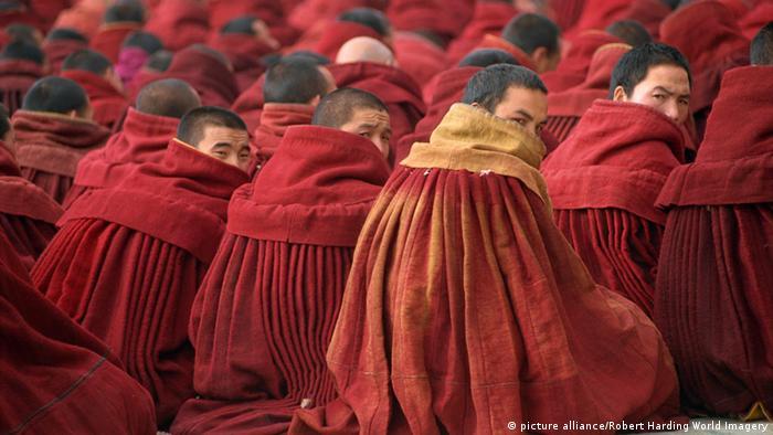 Tibet buddistische Mönche