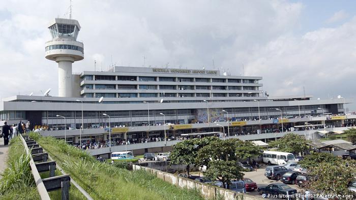 Nigeria Flughafen Lagos Archivbild 2007