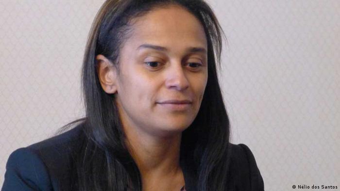 Isabel dos Santos - Unternehmerin Tochter des Präsidenten von Angola