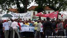 Demonstration der Opposition für mehr Demokratie in Sao Tomé e Príncipe